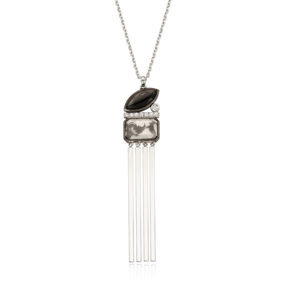 INDI SILVER NECKLACE